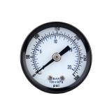 TS-40-300PSI 0-20Bar 0-300PSI Pressure Gauge Mini Pressure Gauge Manometer Air Compressor Pneumatic Hydraulic Fluid Pressure Meter Tester