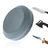 Sharpening Stone Dual Grit 120# 280# Whetstone Alumina Kitchen Round Grinding Stone Household Blade Sharpener Sharpen Stone