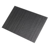 400x500x(0.5-5)mm 3K Black Twill Weave Carbon Fiber Plate Sheet Glossy Carbon Fiber Board Panel High Composite RC Material