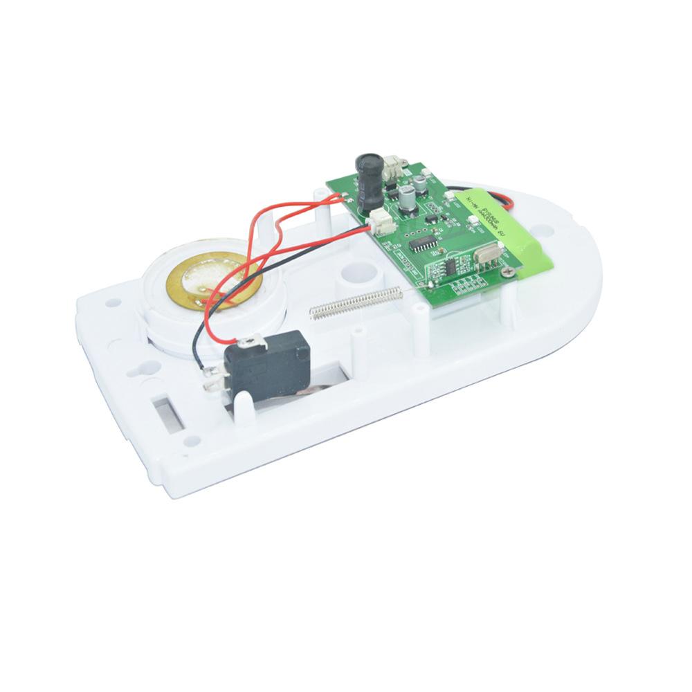 433Mhz Wireless Smart Home Security Smart Alarm Hub Alarm Sirens Strobe Sensor Night Light EU Plug Security Alarms System