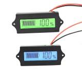 LCD Lithium Iron Phosphate Battery LiFePO4 Acid Lead Lithium Battery Capacity Indicator Digital Voltmeter Tester 12V