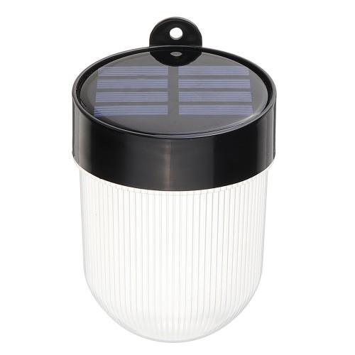 Solar Power Wall Mount 6 LED Light Outdoor Garden Path Landscape Fence Yard Lamp