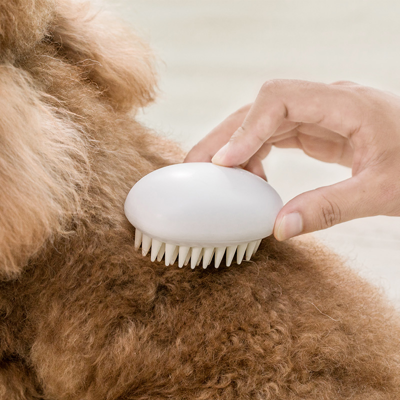 Jordan&Judy Pet Dog Silicone Comb Hair Removal Brush Smooth Surface Easy Cleaning From Xiaomi Youpin