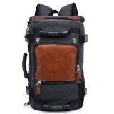 Large Capacity Khaki Function Travel Canvas Backpack Male Waterproof Computer Causal Men Backpacks Duffel Shoulder Bag