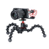Ulanzi PT-5 Microphone Mount Plate Bracket Holder Extension Bar with Cold Shoe 1/4-20 Tripod Hole for DSLR Camera