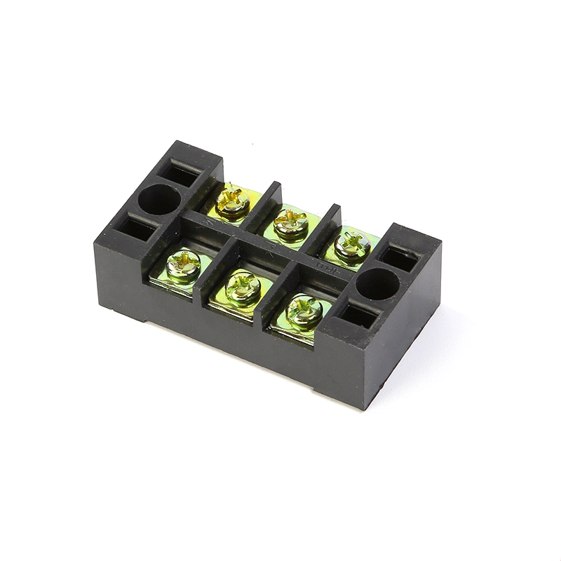 TB-2503 Fixed Terminal Block 600V 25A 3P Screw Terminal Modular Connector Terminal Block