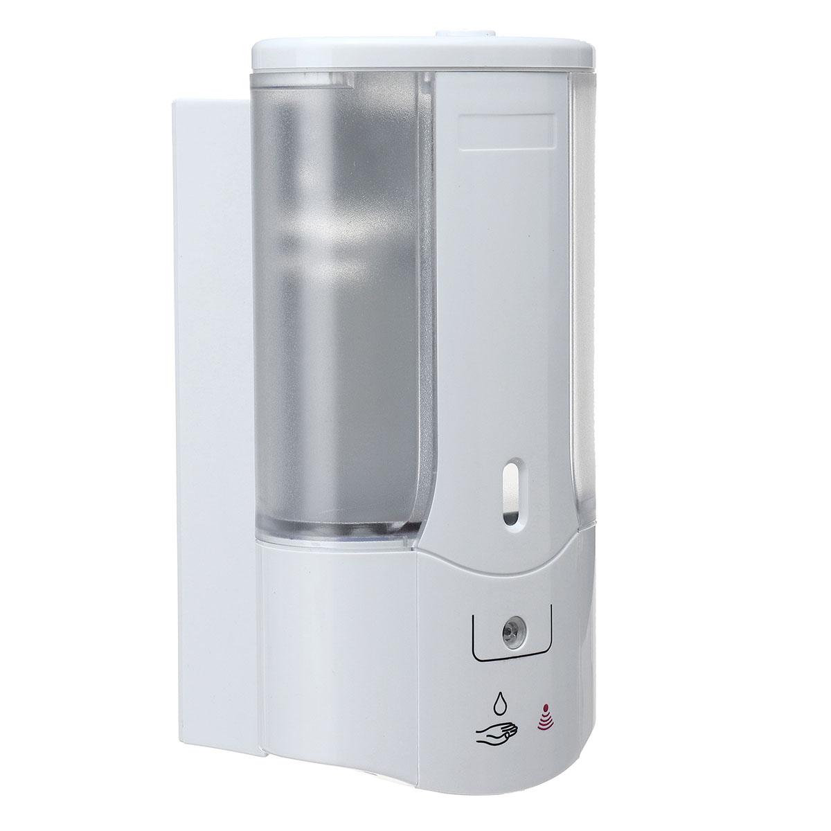 500mL Automatic Sensor Hand-Free Soap Dispenser Shampoo Bathroom Wall Mounted