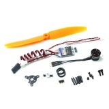 AEORC ACM1106 1S Micro Power System Combo Set MC1106 3800KV Brushless Motor With 5A ESC 5030 Propeller 1.7g Servo