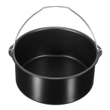 1.8L Air Fryer Bread Baking Basket Cake Pan Hot Air Oven Accessories