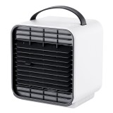 IPRee Portable Mini Air Cooler Fan Air Conditioniner USB LED Desktop Wind Cooling Fan Anion Purifier Humidifier