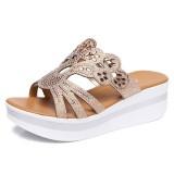 Large Size Women Casual Shoes Hollow Out Platform Sandals