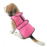 Hapet Pet Dog Clothes Waterproof Reflective Wool Vest Jacket Winter Warm Pet Clothes