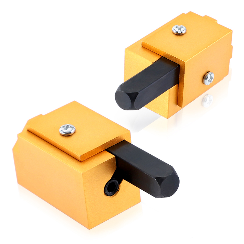 Gold Oxidized Corner Chisel Square Hinge Recess Mortising Right Angle Cutter Wood Carving Chisel Woodworking Tools