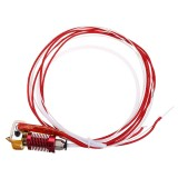 12V / 24V 40W MK8 Extruder Hot End Kit 1.75mm 0.4mm Nozzle For Creality 3D CR-10 3D Printer