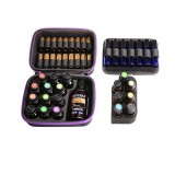 Essential Oil Bag For 3/10/15ML Total of 48 Bottles Essential Oil Storage Hard Shell Carrying Case