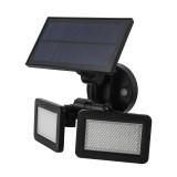 Dual Head 48 LED 450Lm Solar Wall Light Outdoor LED PIR Motion Sensor Security Landscape Lamp
