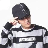 Men Women Cotton Letter Embroidery Star Painter Beret Caps Adjustable Newsboy Cabbie Flat Hat