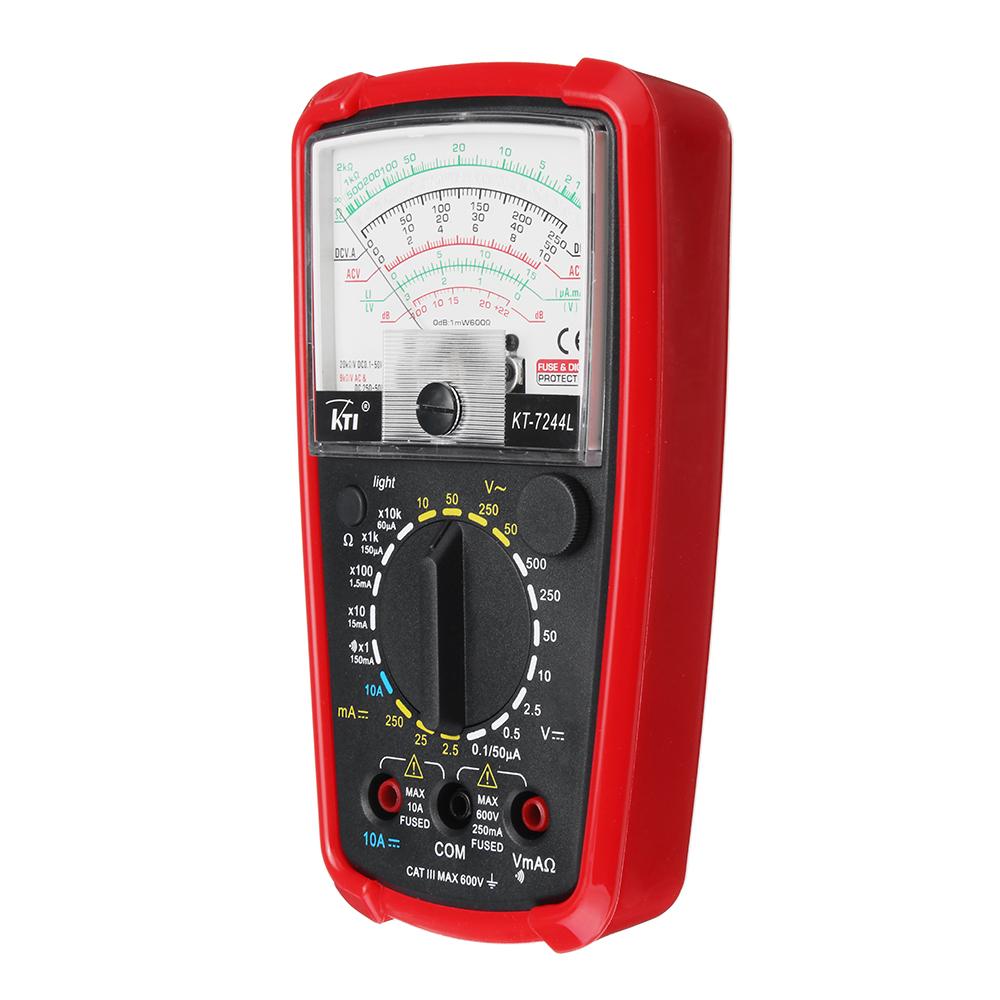 Analog Multimeter KT7050 Multifunction High Sensitivity High Precision Ohm Test Meter Analog Multimeter Autoranging Multimeter