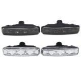 Amber Car Side Marker Lights Indicator Turn Signal Lamp for BMW E39 1997-2003