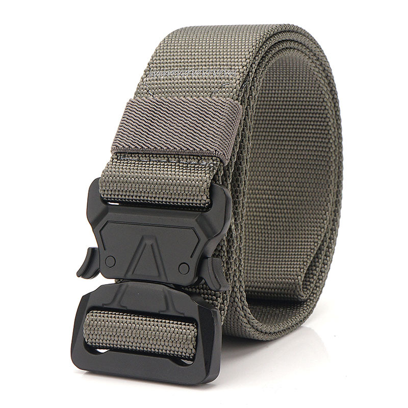 125cm AWMN C1B1 3.8cm Nylon Tactical Belt Quick Release Inserting Buckle Military Tactical Belt Leisure Belt