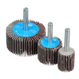 120 Grit 15-80mm Sanding Flap Wheel Polishing Grinding Rotary Drill Tool Disc