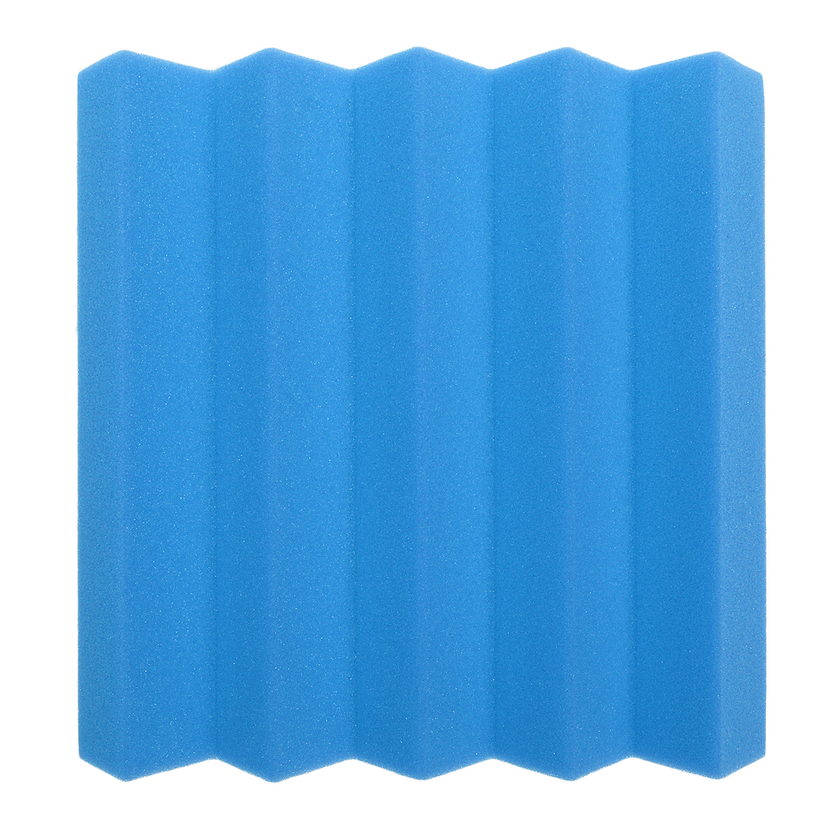 6Pcs 25x25x5cm Acoustic Wedge Foam Tile Sound Absorption Panel Soundproof