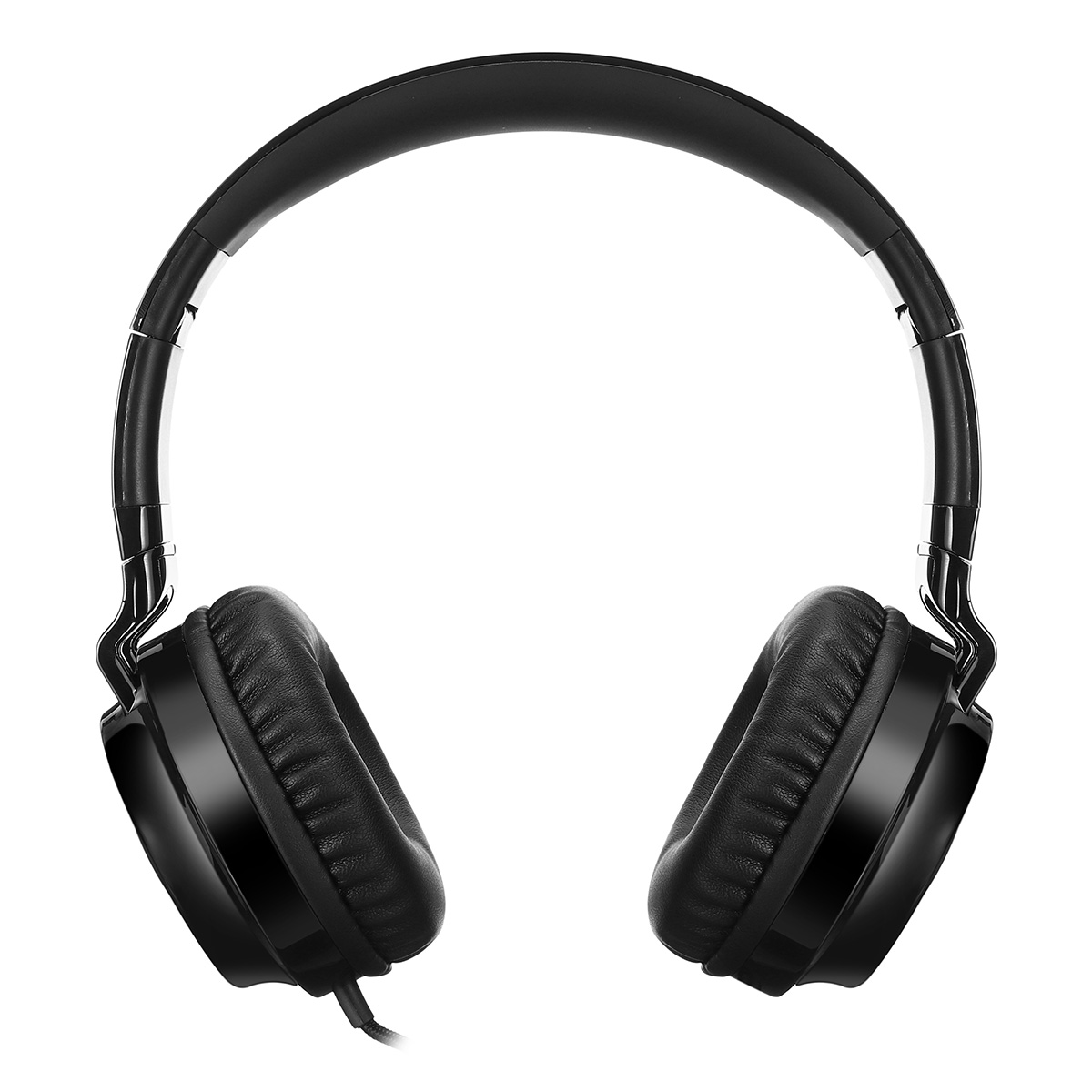Pincun C60 Foldable Wired Headset Headphone 4D Stereo Portable 3.5mm Wired Over-ear Headset with Mic
