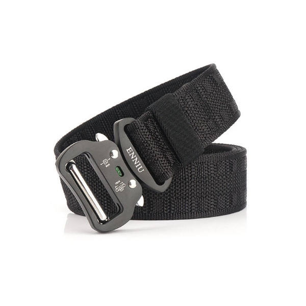 125cm x 3.8cm ENNIU MH04G Nylon Waist Belts Tactical Belt Quick Release Inserting Buckle Leisure Belt