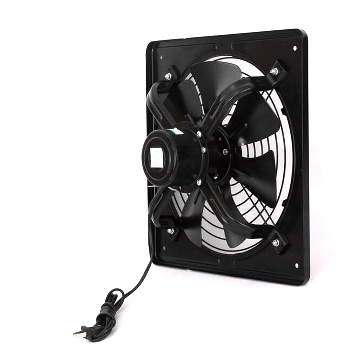 220V 60W Industrial Ventilation Extractor Metal Axial Exhaust Air Blower Fan