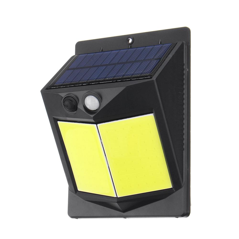 96 COB Solar Power Light PIR Motion Sensor Security Outdoor Garden Wall Lamp