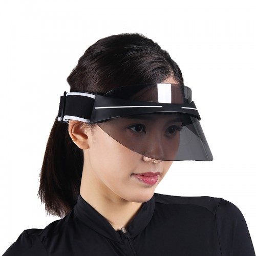 IPRee Unisex Sunhat Summer Visor Cap Anti-UV Sunscreen Polarized Transparent Beach Hat Protector Men Women
