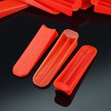 100pcs PVC Tile Leveling Wedge Tile Spacers For Tile Surface-Levelling System