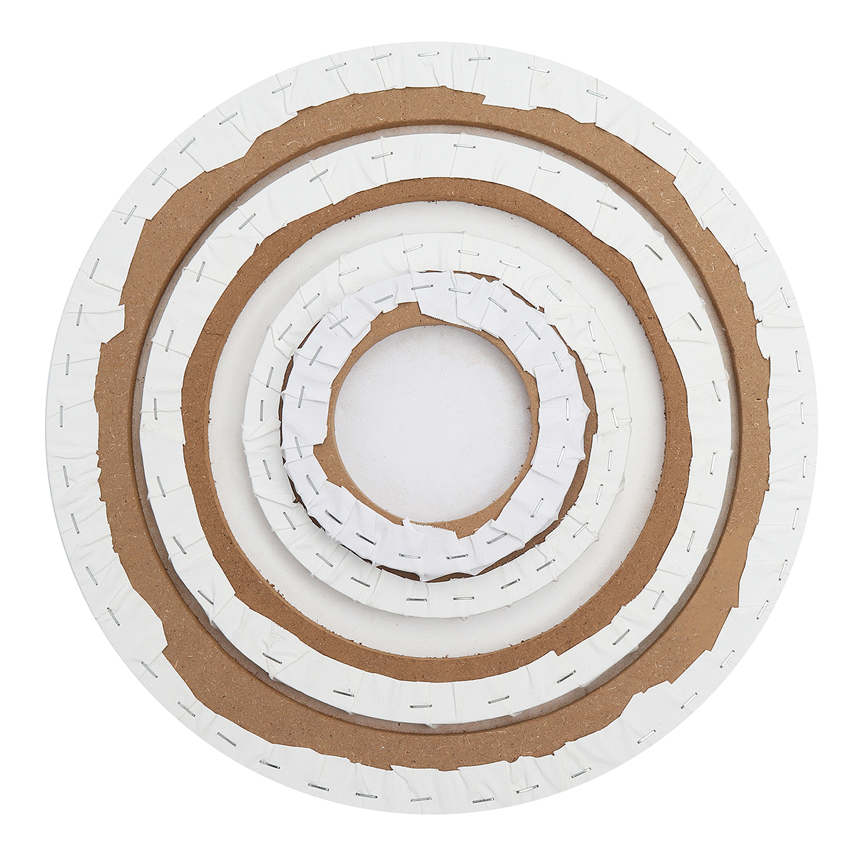 Blank White Round Artist Canvas Wooden Board Acrylic Oil Painting 6//8//12//16/'/' 1