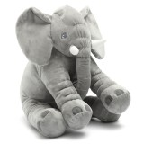 15.7″ Stuffed Animal Soft Cushion Baby Sleeping Soft Pillow Elephant Plush Cute Toy for Toddler Infant Kids Gift