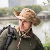 Men Women Summer Silk Visor Bucket Hat Fisherman Hat Outdoor Climbing Mesh Sunscreen Cap