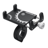 3.5-6.2 inch Phone GPS Holder Handlebar Mount Aluminum Universal For Motorcycle Bike Scooter