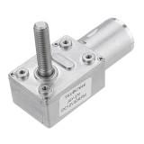 Machifit JGY370 DC 12V Worm Gear Motor 10/30/90/150RPM Turbine Self-locking Reduction Gear Motor