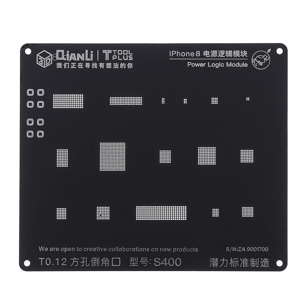 IC Rework BGA Reballing Stencil For IPhone 4 5S 6 6S 7 8P X Series IC BGA Tools