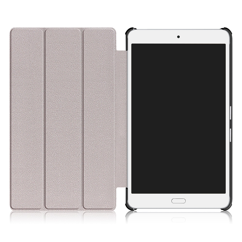 Tri Fold Case Cover For 8 Inch Huawei Waterplay HDL-W09 Tablet