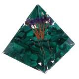 Himalayas Stone Orgone Pyramid Energy Generator Tower Home Reiki Healing Crystal Decorations
