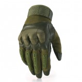 Touch Screen Military Tactical Airsoft Full Finger Gloves Hard Knuckle Outdoor 3 Colors