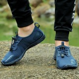 Men Lightweight Breathable Mesh Cloth Outdoor Hiking Sneakers