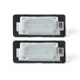 LED License Number Plate Lights Lamps Bulbs CANBUS Error Free Pair for BMW E39 E60 E82 E70 E90 E92 X3/5/6
