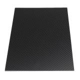 200X250mm 3K Carbon Fiber Board Carbon Fiber Plate Twill Weave Matte Panel Sheet 0.5-5mm Thickness