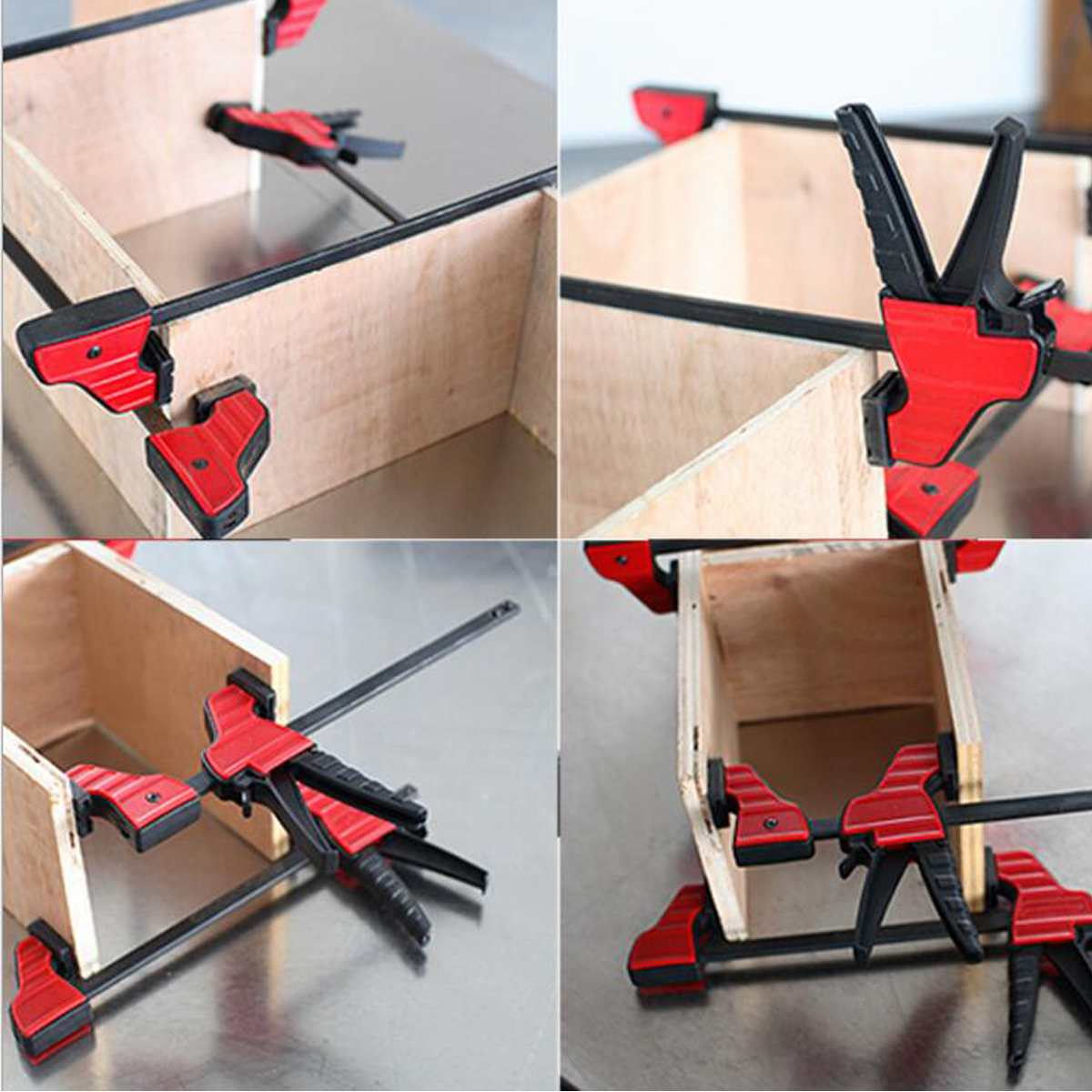 Terrific 4 6 12 18 Inch Plastic F Clamp Heavy Duty Holder Quick Release Parallel Wood Tool Woodworking Clamp Andrewgaddart Wooden Chair Designs For Living Room Andrewgaddartcom