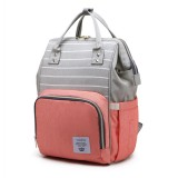 15L Outdoor Travel USB Mummy Backpack Waterproof Baby Diapers Nappy Bags