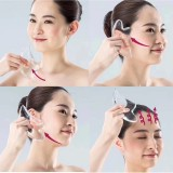 Acrylic Guasha Scraping Board Gua Sha Manual Massager Tool Face Neck Lifting Body Health