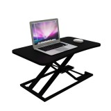 BAIZE 21028 Modern Simple Adjustable Height Desk Sit Stand Dual-use Desk Foldable Office Desk Riser Notebook Laptop Stand Notebook Monitor Holder