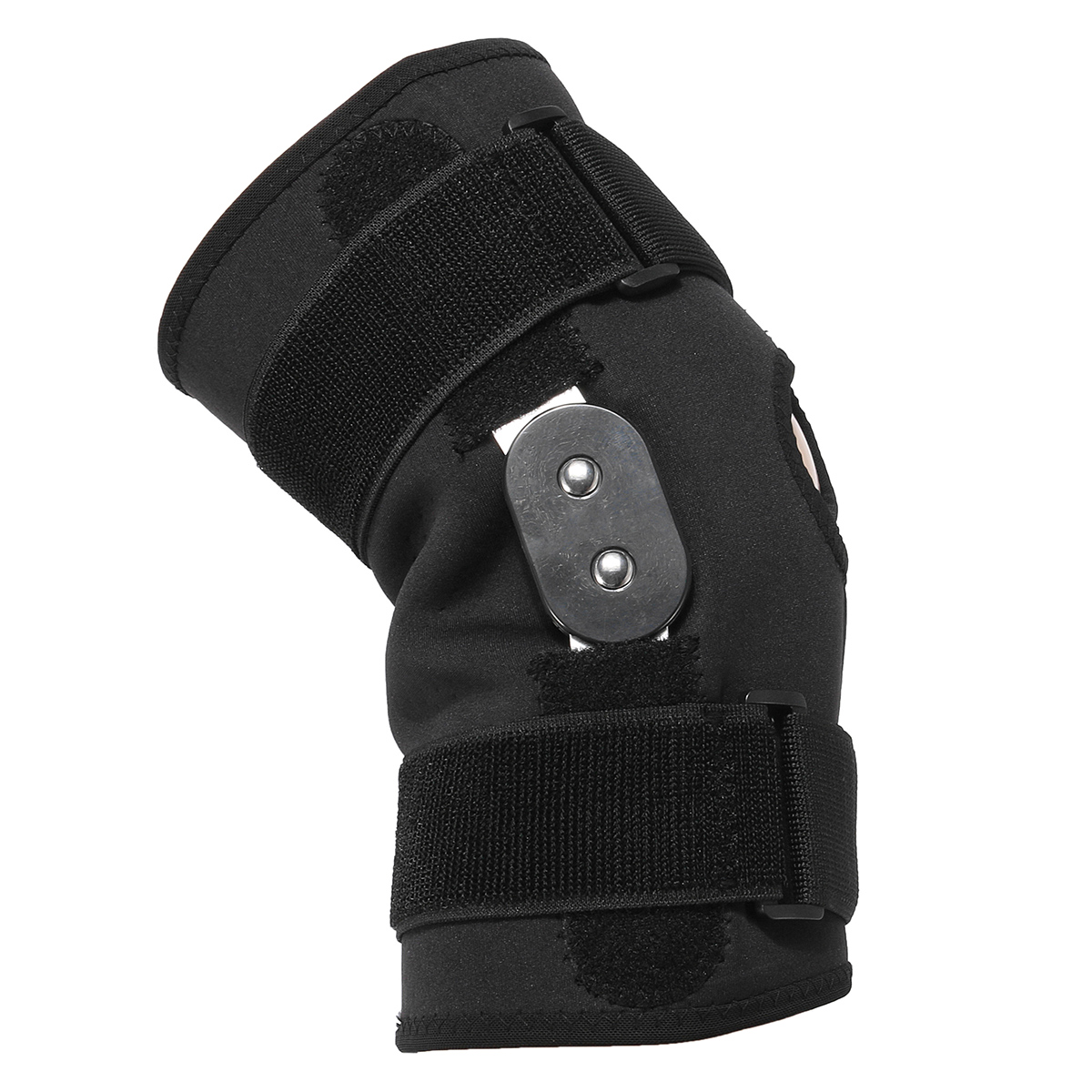 Double Hinged Full Knee Support Brace Pad Adjustable Aluminium Support Joint Protection