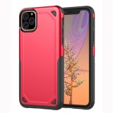 Shockproof Rugged Armor Protective Case for iPhone 11 Pro Max (Red)